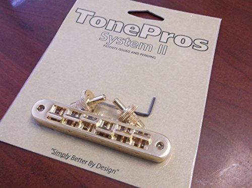 TonePros TP6-G Nashville Tunematic Bridge - Gold