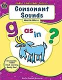 Consonant Sounds, Grades Pre-K-K, Hunter Calder, 142068065X