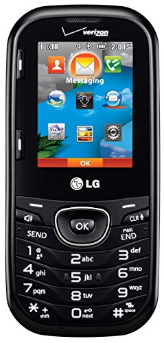 LG Cosmos 2 VN251 Verizon Wireless CDMA Slider Cell Phone w/ Number Pad + Full Keyboard (No Contract) (Best Verizon Phone Out)