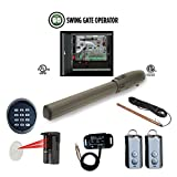 Viking G5 Single Swing Gate Opener Control Panel,Safety Photocell, Receiver & Transmitter, Exit Wand, Keypad