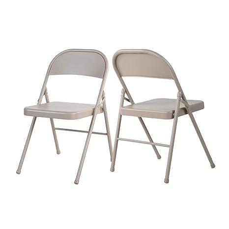 FENGFAN Conjuntos de sillas Plegables de 2/4/6 Sillas de ...