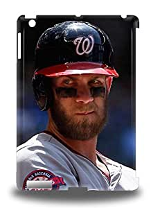 Fashion 3D PC Case Cover For Ipad Air MLB Washington Nationals Bryce Harper #34 ( Custom Picture iPhone 6, iPhone 6 PLUS, iPhone 5, iPhone 5S, iPhone 5C, iPhone 4, iPhone 4S,Galaxy S6,Galaxy S5,Galaxy S4,Galaxy S3,Note 3,iPad Mini-Mini 2,iPad Air )
