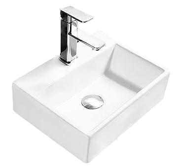 Design Keramik Rechteckig Waschtisch Handwaschbecken Aufsatz ...