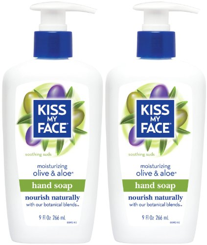 Aloe Liquid Moisture Soap (Skin Nourishing Liquid Moisture Soap, Olive & Aloe, 9 oz, 2)