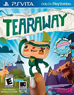 Tearaway - PS Vita [Digital Code] (B00GU358H6) | Amazon price tracker / tracking, Amazon price history charts, Amazon price watches, Amazon price drop alerts