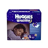 Huggies OverNites Diapers, Size 5, Big Pack, 52 Count, Health Care Stuffs