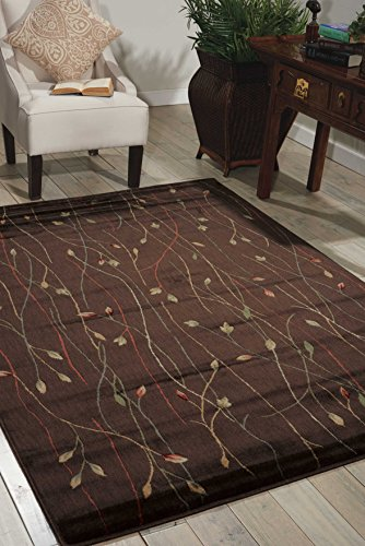 - Nourison Cambridge (CG04) Chocolate Rectangle Area Rug, 2-Feet by 2-Feet 9-Inches (2' x 2'9