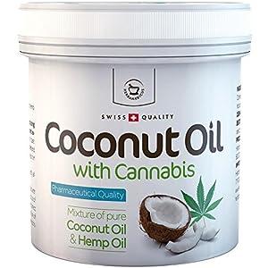 Coconut Oil with Cannabis Sativa Hemp oil – ...