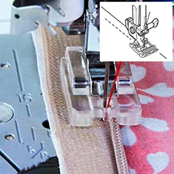 Kalevel Open Toe Free Motion Quilting Embroidery Foot Sewing Machine Darning Presser Foot Fits All Low Shank Singer Brother Babylock Euro-Pro Janome Kenmore White Juki Viking New Home Simplicity Elna
