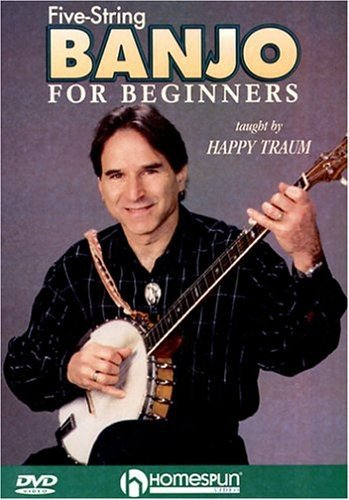 Five-String Banjo For Beginners by Homespun