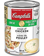 Campbell's Low Fat Cream of Chicken Soup, 284 mL (Packaging May Vary)