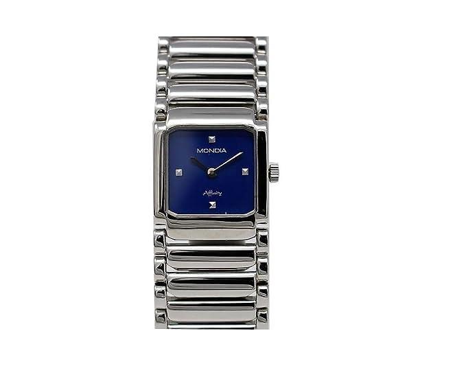 Top SHOP Mondia by zenith Affinity Carrè cuarzo Blue Reloj mujer original 1 - 462 - 7: Amazon.es: Relojes