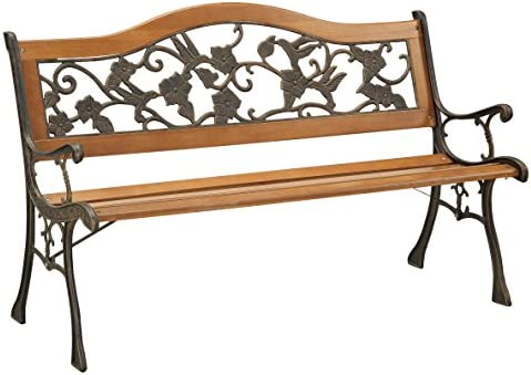 Furniture of America Dolce Outdoor Bench