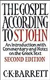 Gospel According to St John, the Paperback, Barrett, 0281061947