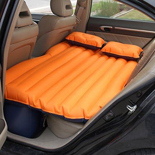 車用ベッド (135×85×45cm)(エアーベッド×1ピロー×2エアーエアーポンプ×1)のための車のエアベッド多機能旅行キャンプ車の後部シートインフレータブルマットレス (色 : Blue)