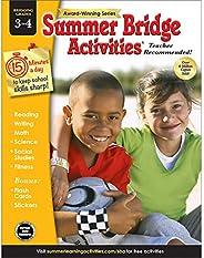 Summer Bridge Activities | Bridging Grades 3-4 | Summer Learning Workbook | 160pgs