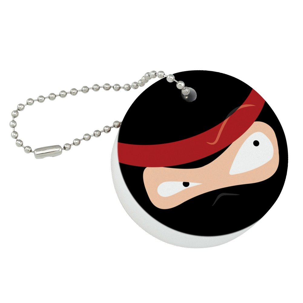 Amazon.com: Graphics and More Ninja Face Head Funny Round ...