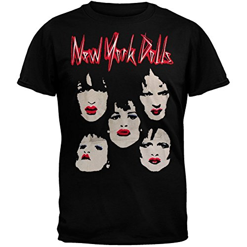 Old Glory New York Dolls - Faces Subway T-Shirt