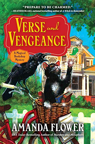 Verse and Vengeance: A Magical Bookshop Mystery by [Flower, Amanda]