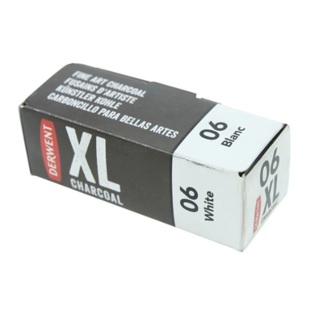 Derwent Xl Charcoal Block White 4336947191