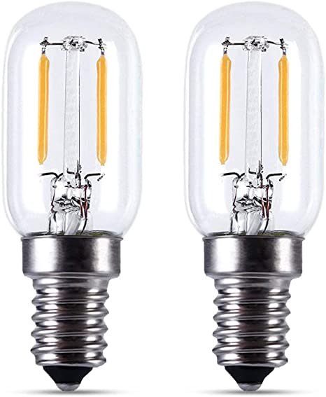 Lampadina Led E14 2w Sostituire Incandescente 15w T22 150lm Lampadine Filamento Led E14 Luce Calda 2700k Ac 230v Lampadine Piccola Per Luce Notturna Bambini Set Di 2 Amazon It Illuminazione