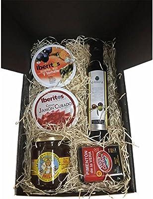 Estuche con productos Gourmet para regalos Navidad: Amazon.es: Alimentación y bebidas