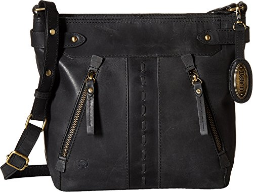 Born Womens Zavalla Distressed Leather Black One Size Born Black Leather