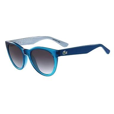 Amazon.com: Lacoste l788s 440 Turquesa Ovalada anteojos de ...