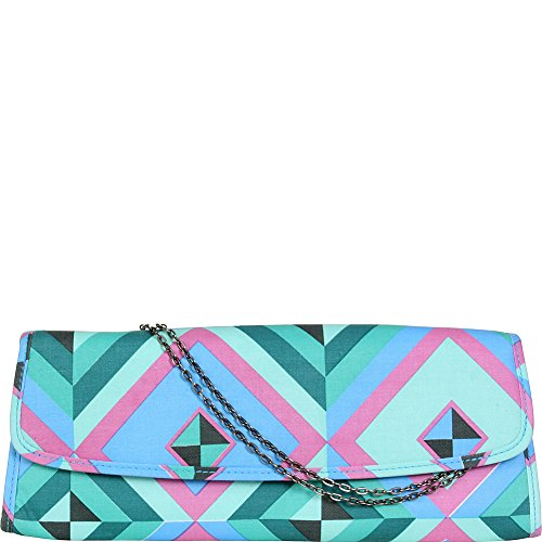 amy-butler-for-kalencom-brenda-clutch-with-chain-sky-pyramid-cobalt
