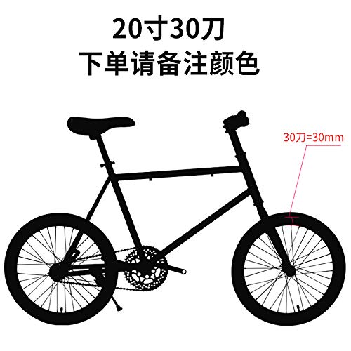 Fixed Gear Bike Solid tire Bicycle Road Racing Live to Fly Ingreened Brake 20inch Small Mini Adult Male and Female Students