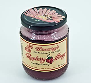 product image for Browning's Old-Fashioned Cream Style Raspberry Honey, Natural Gluten Free
