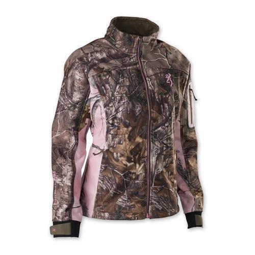 Browning 3046102402 Hell's Belles Soft Shell Jacket, Realtree Xtra, Medium