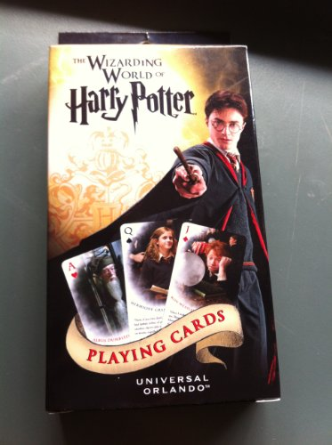 The Wizarding World of Harry Potter Playing Cards