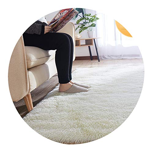 Soft Tie-Dye Carpet Floor Bedroom Mat Gradient Color Fluffy Area Rug Living Room Carpet Hallway Mat Antiskid ()