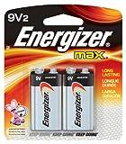 ENERGZR MAX BATT 9V CD2 CARD OF 2
