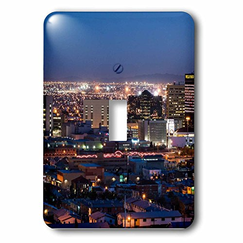 3dRose Cities Of The World - City Of El Paso, Texas - Light Switch Covers - single toggle switch - Texas Outlets Paso El The