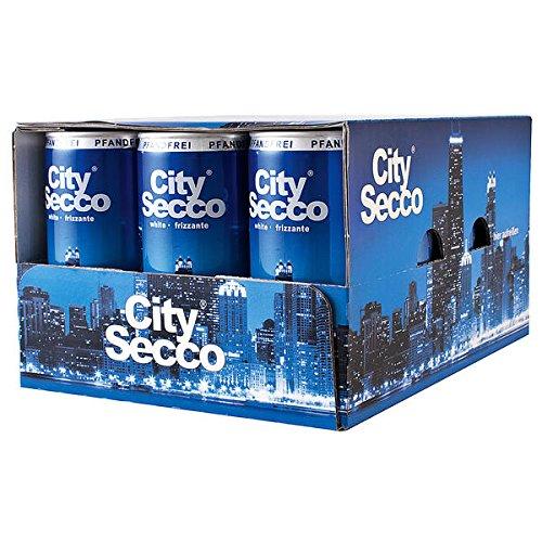 60 Dosen City City Secco Perlwein 10.5% Vol. 60 x 200ml
