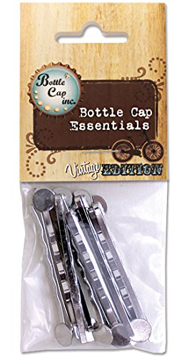 Bottle Cap Co. Vintage Collection Bobby Pins-Chrome - Pack of 10