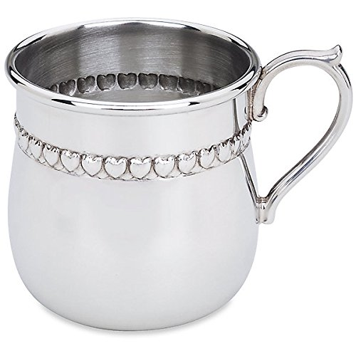 - Reed And Barton PZ Baby Hearts Pewter Cup