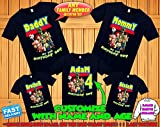 Toy Story 4 Birthday Shirt, baby shower Toy Story 4 Custom Shirt, Personalized Toy Story Shirt,Toy Story family shirts,