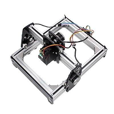 Metal Steel Iron Stone Engraver DIY Printer 10W Mini Laser Engraving Machine