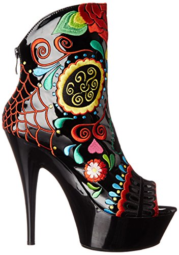 Ellie Chaussures Femme 609-amiens Boot Black