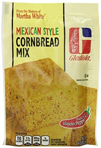 Gladiola Martha White Mexican Style Cornbread Mix 6 Oz (Pack of 6) (Mexican Cornbread Mix compare prices)