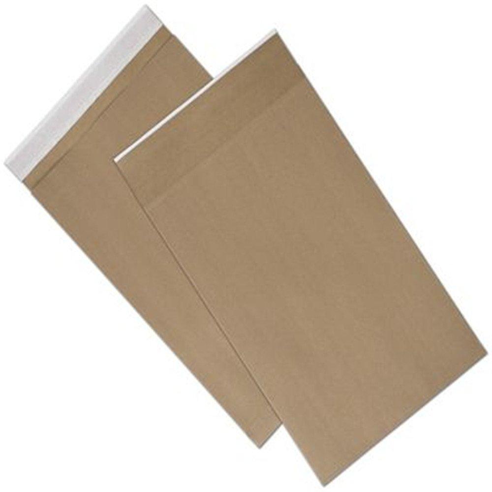 Natural Kraft Unprinted Eco-Mailers, 12 1/2 x 4 x 20''