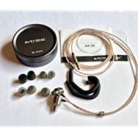 Astrotec AX35 In Ear Dual-Driver Hybrid Dynamic/Balanced Armature Headphones Earphones Earbuds IEM