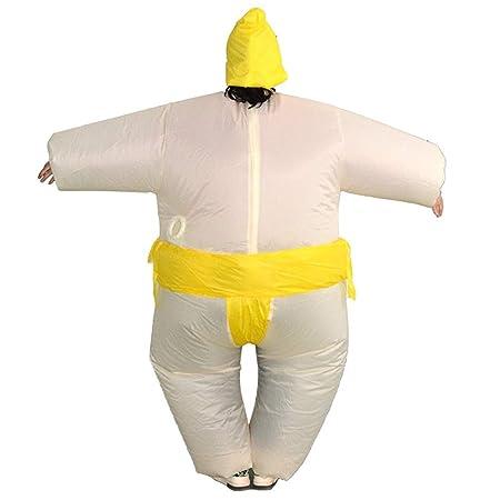 HUDEMR Disfraces de Halloween Disfraz de Sumo Inflable Lucha ...