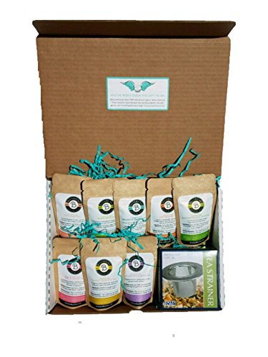 Prenatal Tea Pregnancy Gift Set for Expecting Mother's - Birds & Bees Teas - Sampler and Starter Set