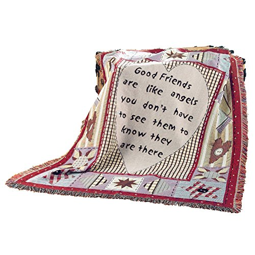 Collection Throw Blanket - Collections Etc Friends & Family Throw Blanket
