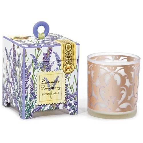 - Michel Design Works Soy Wax Candle, Lavender Rosemary, 6-1/2-Ounce