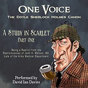 A Study in Scarlet, Part One Audiobook